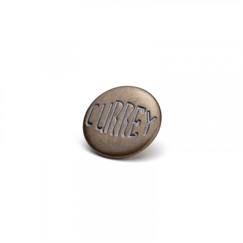 fashion button 335 - Size: 18 mm eyelet, Color: brown