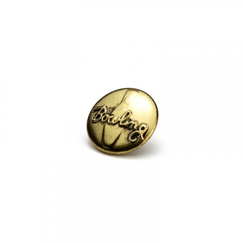 fashion button 337 - Size: 18 mm eyelet, Color: old gold