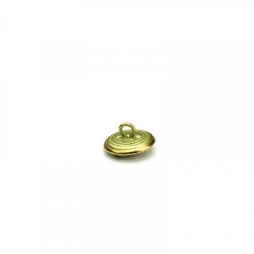 fashion button 206 - Size: 18 mm eyelet, Color: old gold